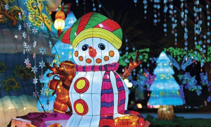 Global Winter Wonderland - Sacramento: Holiday Theme-Park Visit at Global Winter Wonderland (Up to 39% Off). Five Options Available.