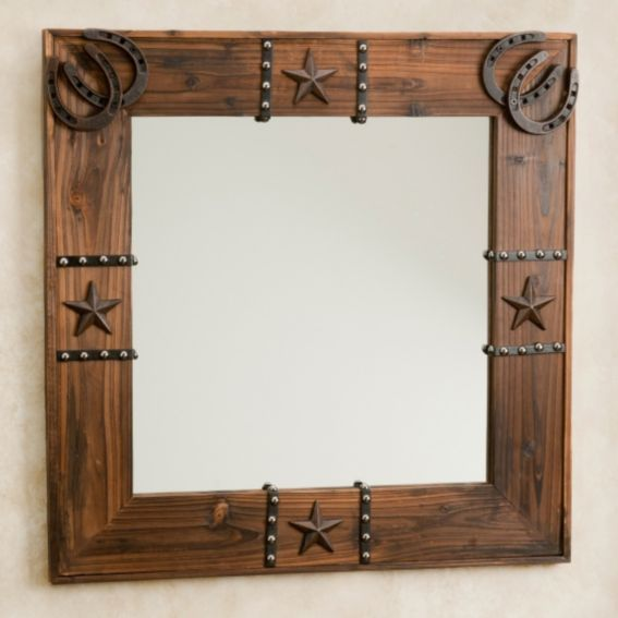 Western Ornament Mirror