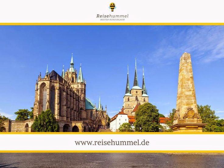 Erfurt, bekannt ist die Landeshauptstadt sowie die größte Stadt des Freistaates Thüringen. Erfurt gilt als Ort, in der Historie und Moderne aufeinander treffen. Mit seinem großen mittelalterlichen Stadtkern sowie zahlreichen Fachwerkbauten ist Erfurt für jedermann sehenswert. Wegen der 43 Kirchen und 36 Klöster wurde Erfurt im Mittelalter auch als das deutsche Rom bezeichnet.