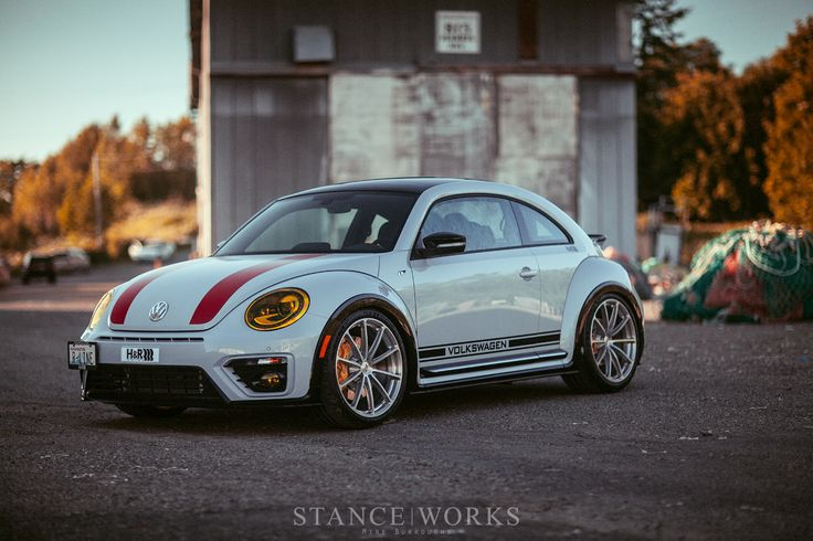 The H&R Springs 911 R-inspired Beetle R-Line