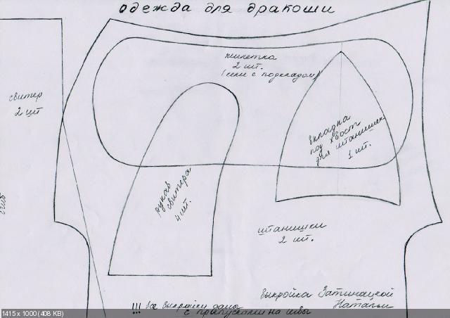 Авторские выкройки Затинацкой Натальи - Форум