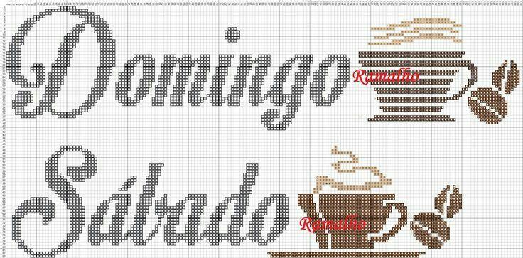 Semaninha  - café - sábado e domingo