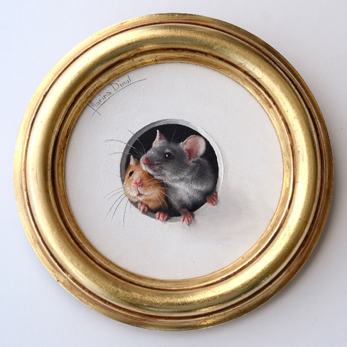 mouse trompe l'oeil
