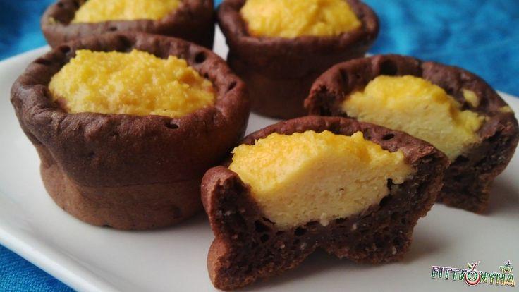 Túrógombóc muffin