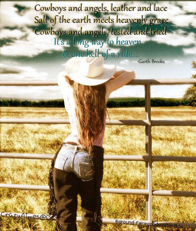 Cowboys and Angels - Garth Brooks