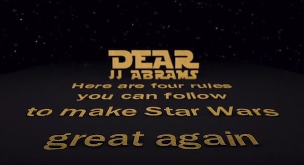 Animated Open Letter To Jj Abrams