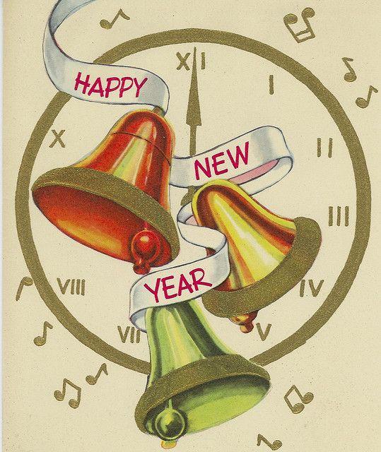 Поздравления, открытка новый год английский