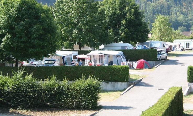 camping champs fleuris