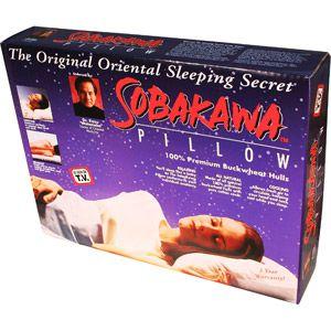 As Seen on TV Sobakawa Buckwheat Hull Pillow, Queen Size $29