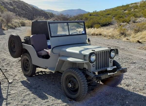 1948 Cj2a Elpaso Nm9 Willys Jeep Monster Trucks Willys
