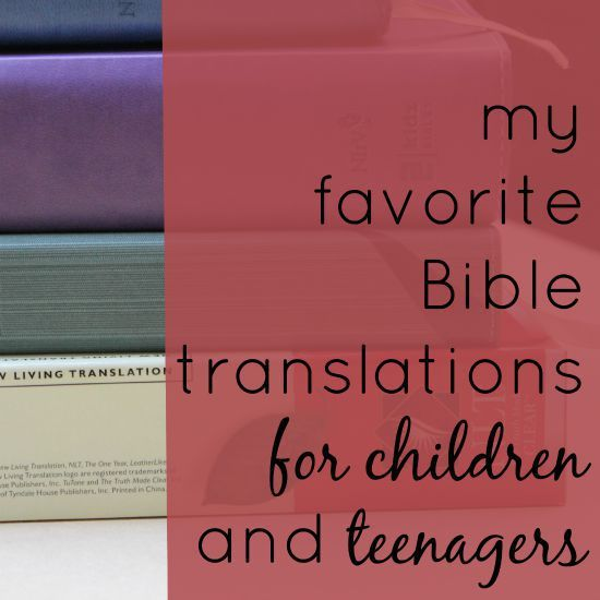 Many editions of the Bible exist in English. Here's a rundown of the best Bible translations for kids and teenagers.