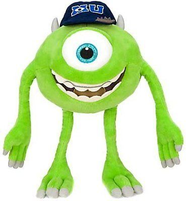 Monsters Inc 44038: Disney Pixar Monsters University Mike Michael Wazowski 12 Plush Kids Toy Gift -> BUY IT NOW ONLY: $31.77 on eBay!