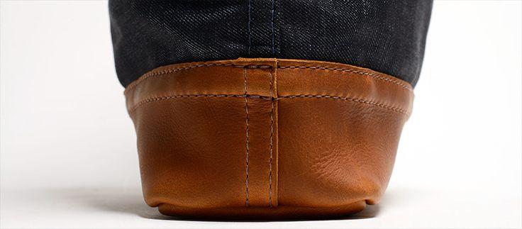 Selvage Denim & Leather Carrier Bag - Kaufmann Mercantile