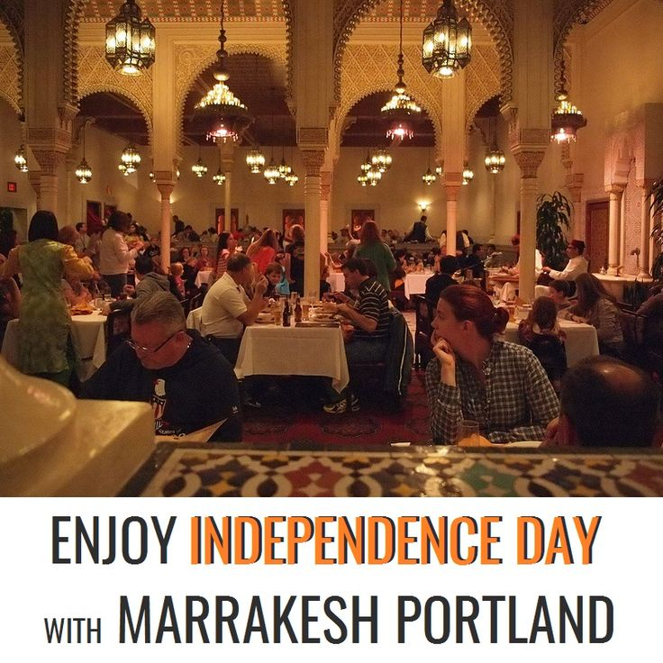 Hey folks! Come celebrate the 4th of July with your family and good friends and have an Independence Day Special Dinner at Marrakesh Restaurant.  Belly dance programs have been cancelled till July 4th!  For more details, visit: http://marrakeshportland.com/ala-carte/  #IndependenceDay #IndependenceDayCelebrations #July4th #SpecialDinner#Delicious #MorrocanRestaurant #MoroccanFood #MoroccanRecipe #TreatYourTasteBuds #AlaCarte #RestaurantPortland #Portland #MarrakeshRestaurant