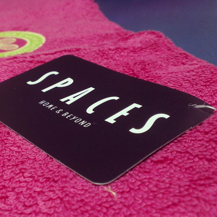 Shop online on www.spaces-home.com for Official Wimbledon Towels!