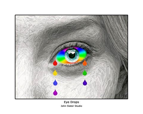 Eye Drops © John Slater Studio