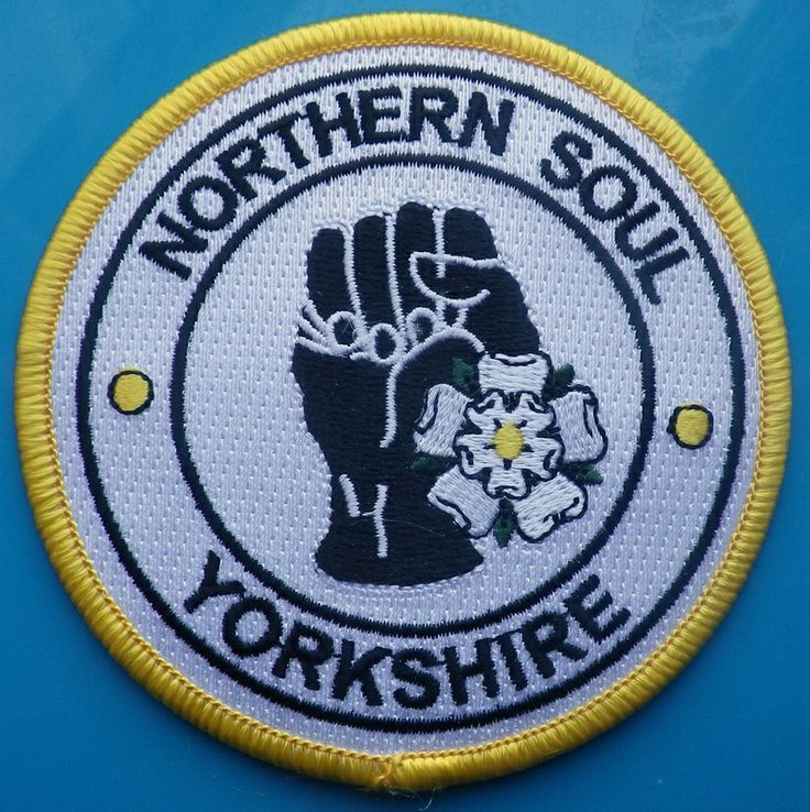 NORTHERN SOUL YORKSHIRE patch