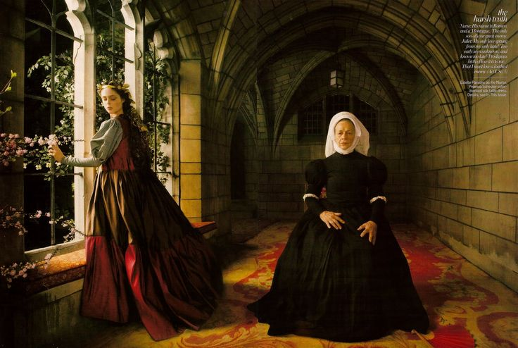 """Simply Creative: """"Romeo & Juliet: Love of a Lifetime"""" - Vogue by Annie Leibovitz"""