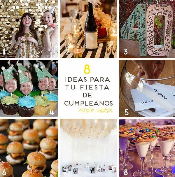 Ideas originales para celebrar cumpleaos adultos stunning - Ideas para celebrar mi cumpleanos ...