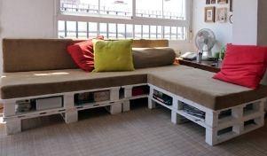 Kreatív Ötletek: Raklap kanapé