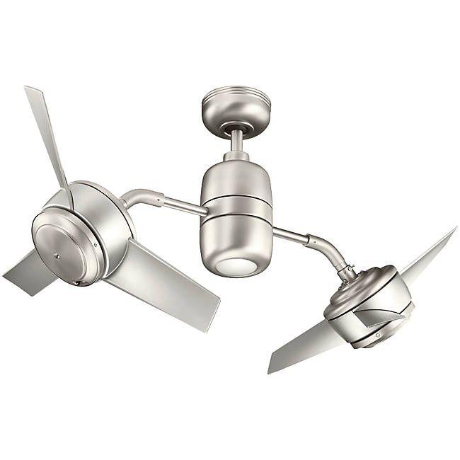Yuree Dual Ceiling Fan by Kichler at Lumens.com