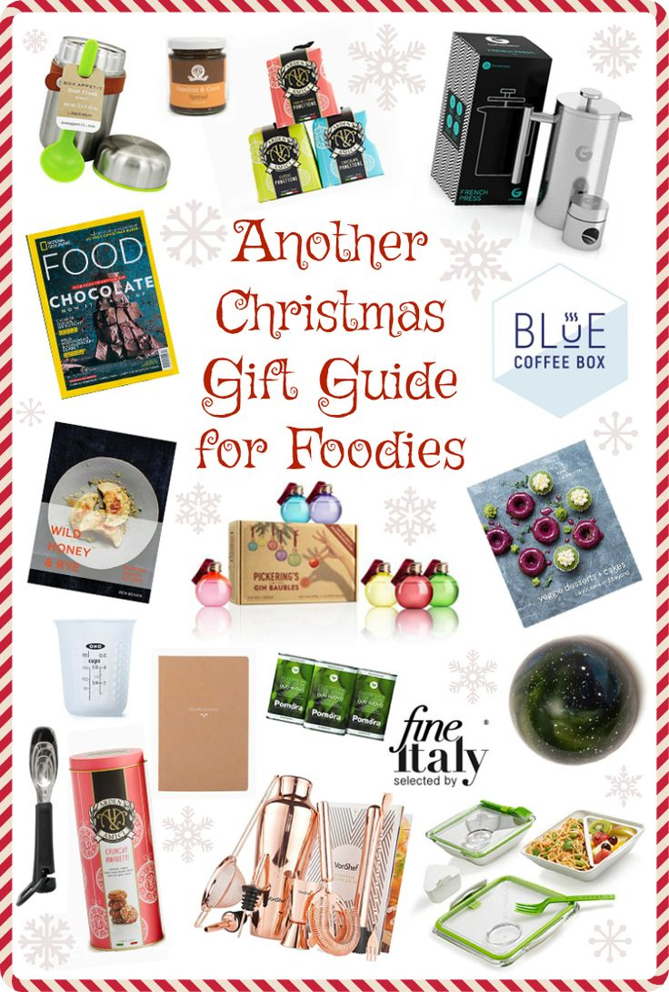 From fine Italian dining to a rose gold colour cocktail making kit, cookery books and treats there will be something in this gift guide for every foodie!