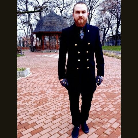#beard #gentleman #ootd