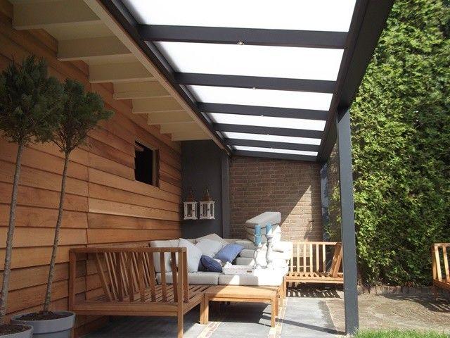 Veranda: aluminium 300x250cm