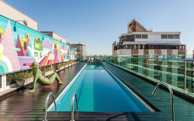 Projeto Rooftop At Viverone, das arquitetas Larissa Palma Dias e Cristiane Bergesch. Foto: Cristiano Bauce