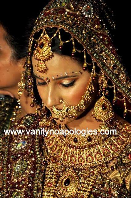 Indian Bridal Photo Diaries: The Dusky Bride
