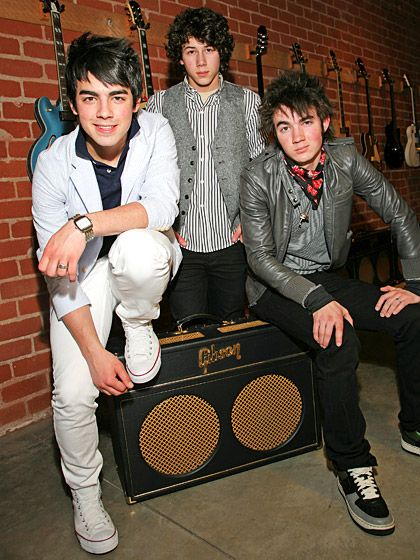 Jonas Brothers  The trio -- brothers Kevin, Joe, and Nick -- gained fame through the Disney Channel in 2005. After starring in two Camp Rock films, the band went on to headline a sold-out worldwide tour and star in a 3D concert movie.