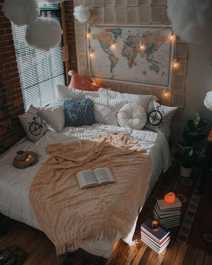 Fantastische böhmische Schlafzimmer-Entwürfe und Dekor#designinterior #designi…