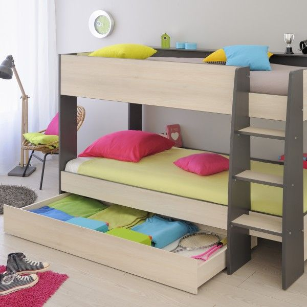 Harrison Bunk Bed For Kids Children Single Shared Spaces With Storage