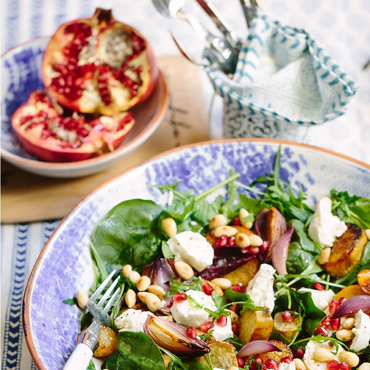 Roasted Sweet Potato Salad - Poetry Stores