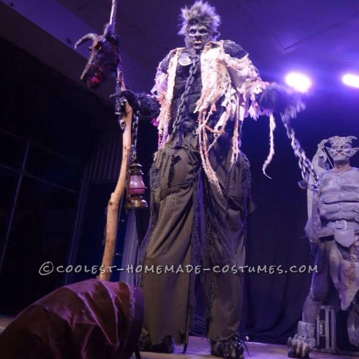 Awesome Homemade Werewolf on Stilts Costume... This website is the Pinterest of costumes