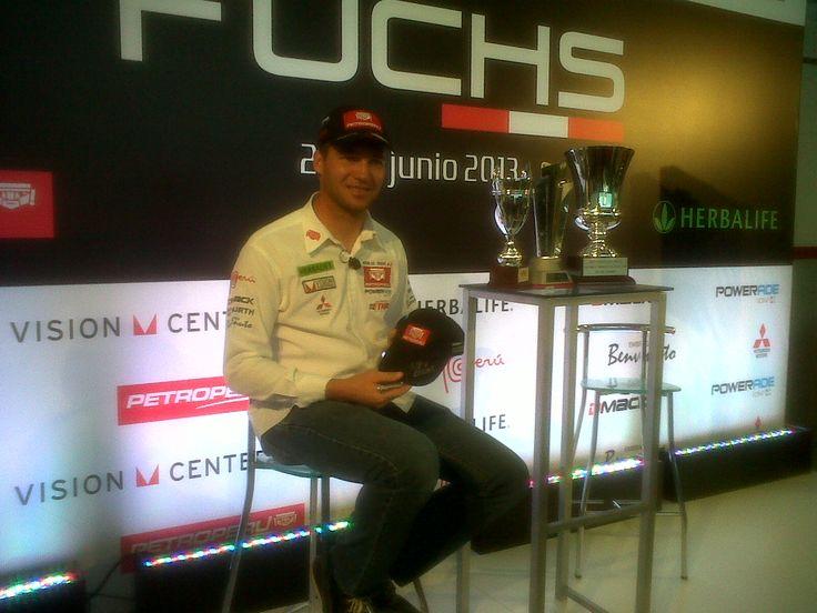 quidquid inicia actividad en Perú organizando la conferencia de prensa de Nicolás Fuchs