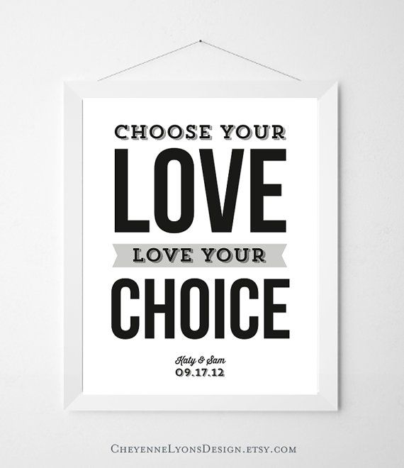 Choose Your Love Love Your Choice Thomas S Monson