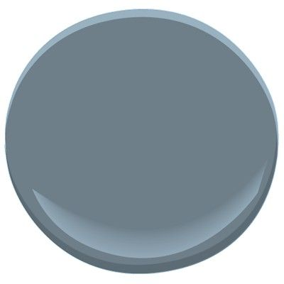 Benjamin Moore Normandy 2129-40 - Living room accent wall (paired with Revere Pewter HC-172)