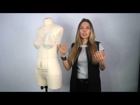 Как подогнать манекен под свою фигуру - YouTube