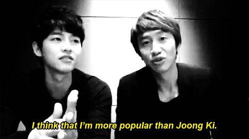 Song Joong Ki Reveals that Lee Kwang Soo Was the Only Actor Who Visited His Home - Soompi