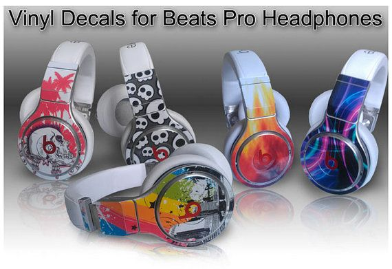 Buy One Get One Free - Choose Any 2 Vinyl Skin / Sticker / Decals for the Monster Beats Pro Headphones