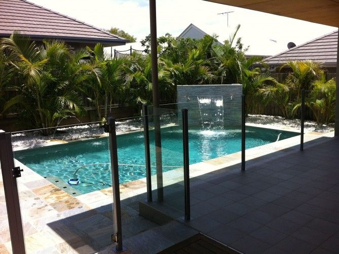 Concrete Block Pool Dimension Pool Construction Wakerley Brisbane Qld Home Pinterest