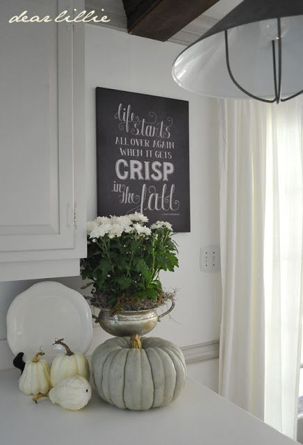 Dear Lillie: Our First Ever Chalkboard Canvas