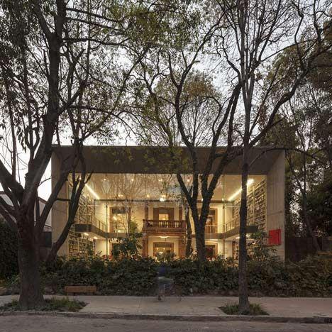 Elena Garro Cultural Centre by Fernanda Canales and Arquitectura 911sc