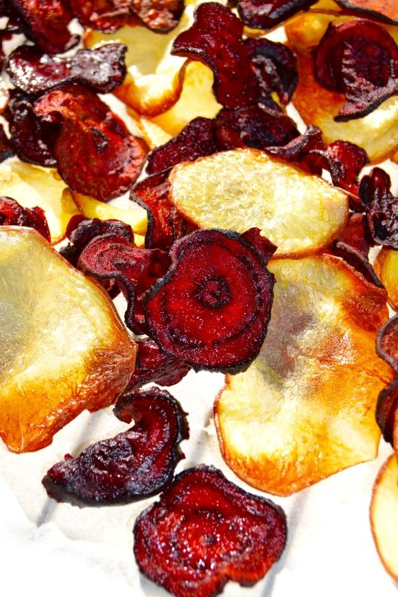 chips barbabietola forno beetroot and potato chips