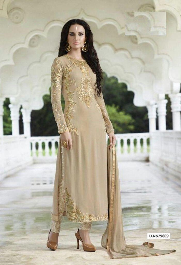 Top Georgette and Santoon Bottom Salwar Kameez..@ fashionsbyindia.com #designs #indian #womens #style #cloths #stylish #casual #fashionsbyindia #punjabi #suits #wedding #chic #elegance #beauty #outfits #fantasy #embroidered #dress #PakistaniFashion #Fashion #Longsuit #FloralEmbroidery #Fashionista #Fashion2015 #IndianWear #WeddingWear #Bridesmaid #BridalWear #PartyWear #Occasion #OnlineShopping #salwar #kameez #straightcut