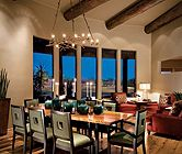 A Well Lit Dining Room | Dining Rooms | LUXE Source