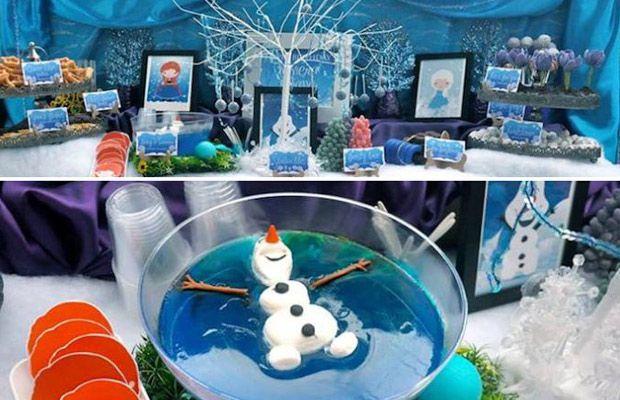 Disney Frozen Party Decorations | Sisterssuitcaseblog Disney Frozen Party Ideas Html