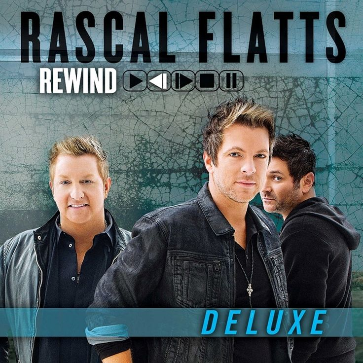 "Rascal Flatts Rewind (Deluxe Edition) on 180g 2LP 8th Consecutive Studio Album to Debut at No. 1 on the Billboard Country Albums Chart Deluxe Edition includes 4 Bonus Tracks: ""Compass,"" ""Wildfire,"" ""S"