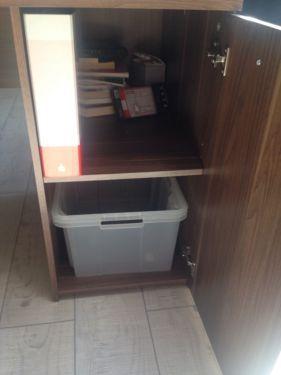 Schöner Schreibtisch in nussbaum in Baden-Württemberg - Schwäbisch Gmünd | Büromöbel gebraucht kaufen | eBay Kleinanzeigen